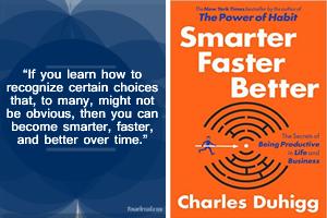 Smarter Faster Better Productivity