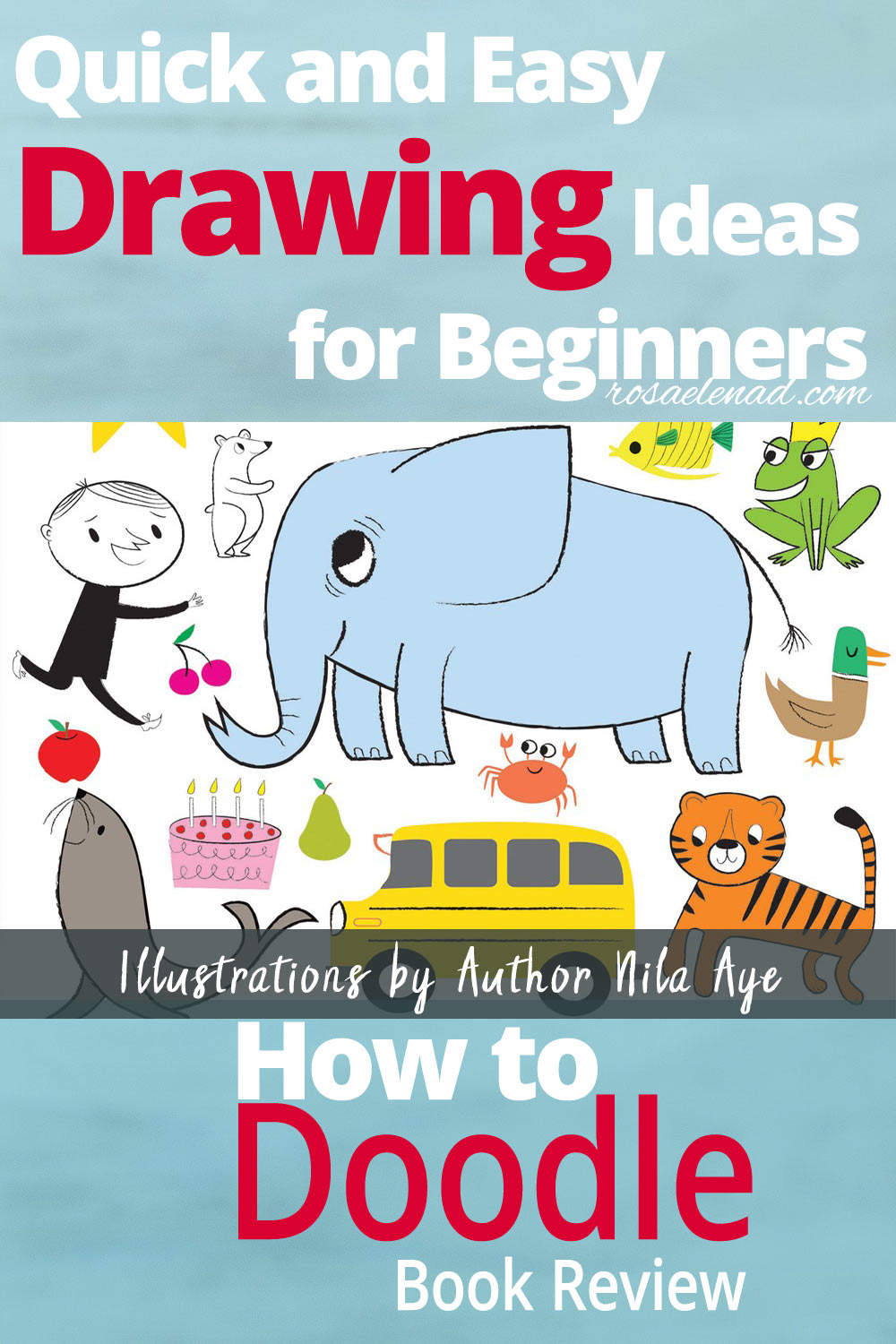 How To Doodle Quick And Easy Drawing Ideas For Beginners Rosa
