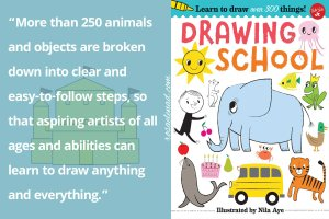 More than 250 animals and objects are broken down into clear and easy-to-follow steps, so that aspiring artists of all ages and abilities can learn to draw anything -everything