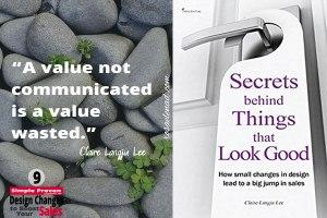 Secrets Behind Things that Look Good - Claire Langju Lee - Retail Marketing