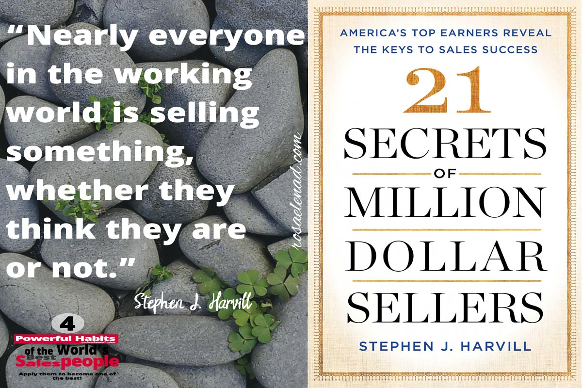 4 Powerful Habits of the World's Best Salespeople - Stephen J. Harvill - Google