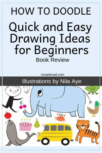How to Doodle for Adults - Quick and Easy Drawing Ideas for Beginners - Book Review