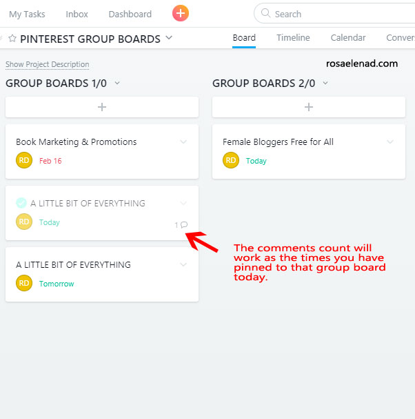 Free Way To Keep Track of Your Group Boards - 16