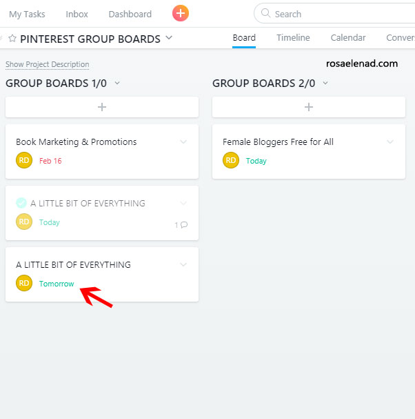 Free Way To Keep Track of Your Group Boards - 19