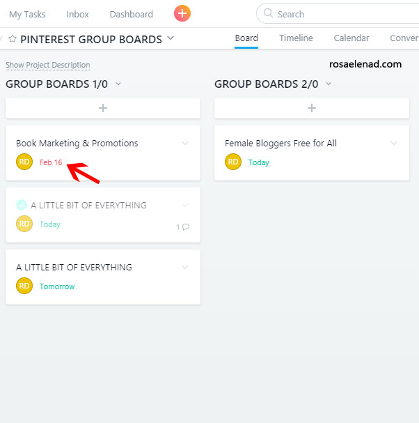 Free Way To Keep Track of Your Group Boards - 21