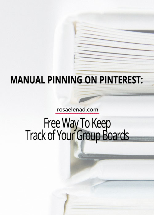 Manual Pinning on Pinterest Free Way To Keep Track of Your Group Boards - Asana