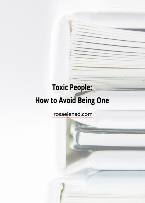 toxic people - how to avoid being one - becoming supernatural book