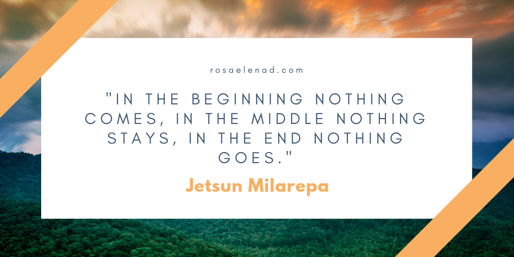 Riddle by Jetsun Milarepa