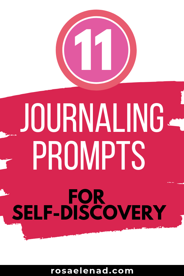 11 Journaling prompts for self-discovery