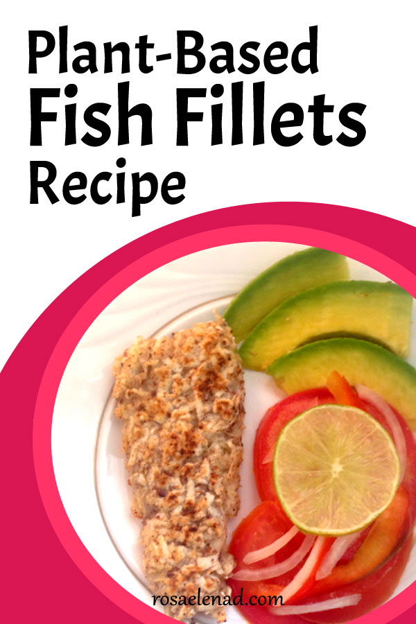 Vegan fish fillet recipe