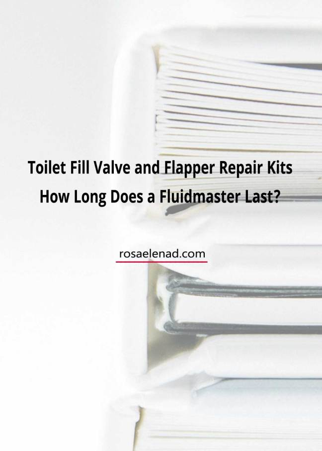 Fluidmaster toilet fill valve and flapper