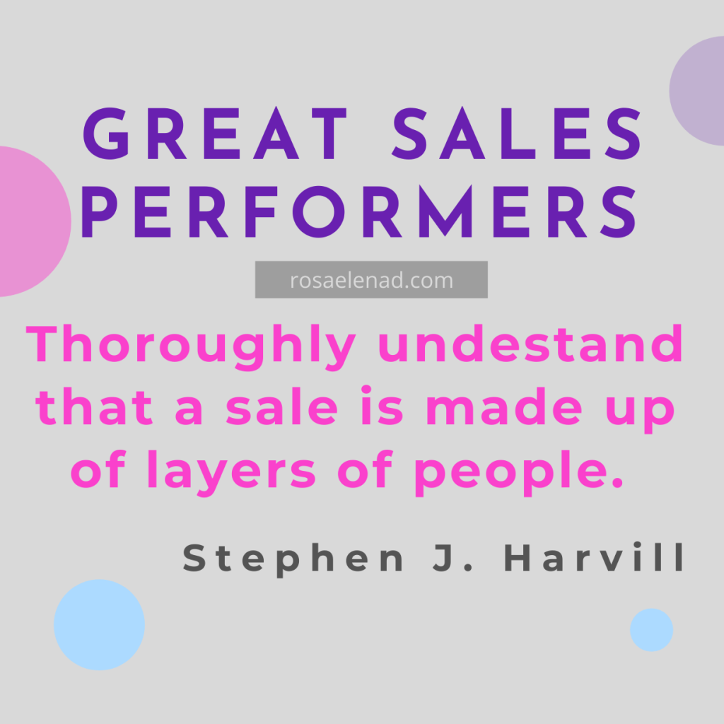 Great sales performers - greeting customers
