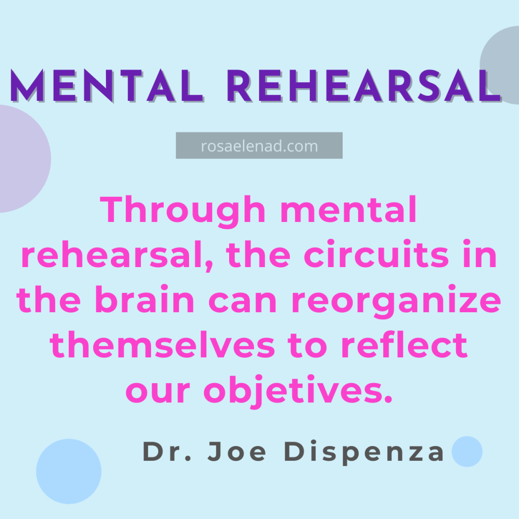 mental rehearsal - Dr. Joe Dispenza