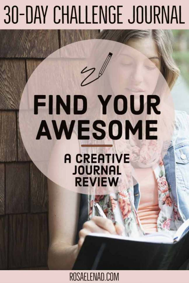 Find your awesome creative journal review