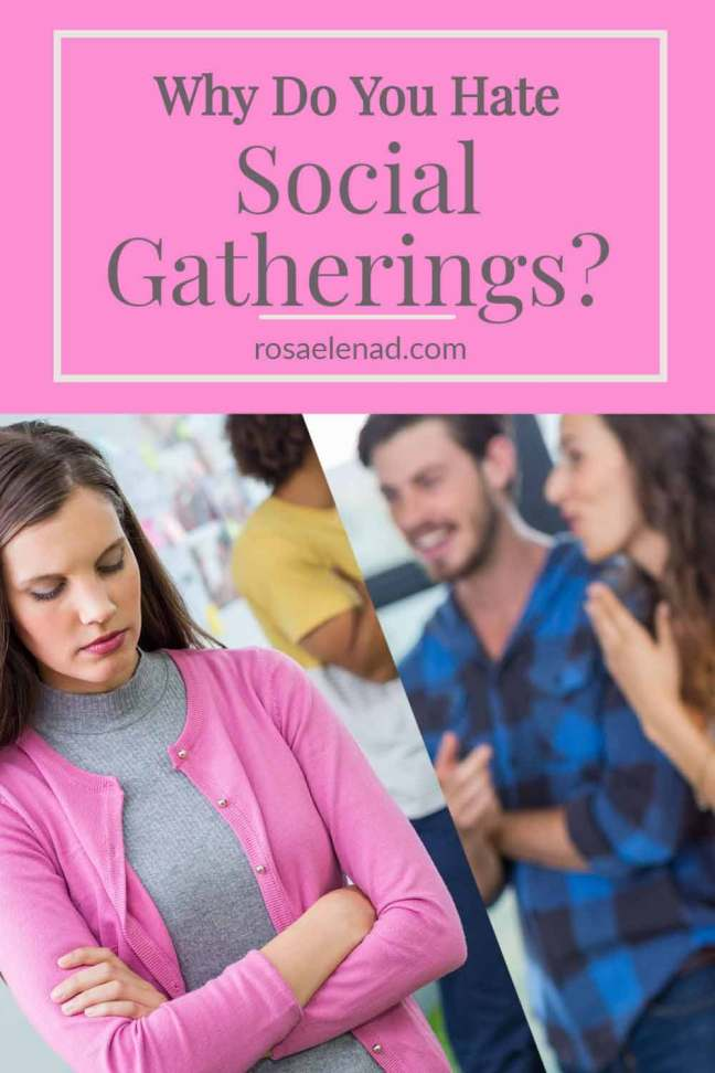 Why do you hate social gatherings - Introverts