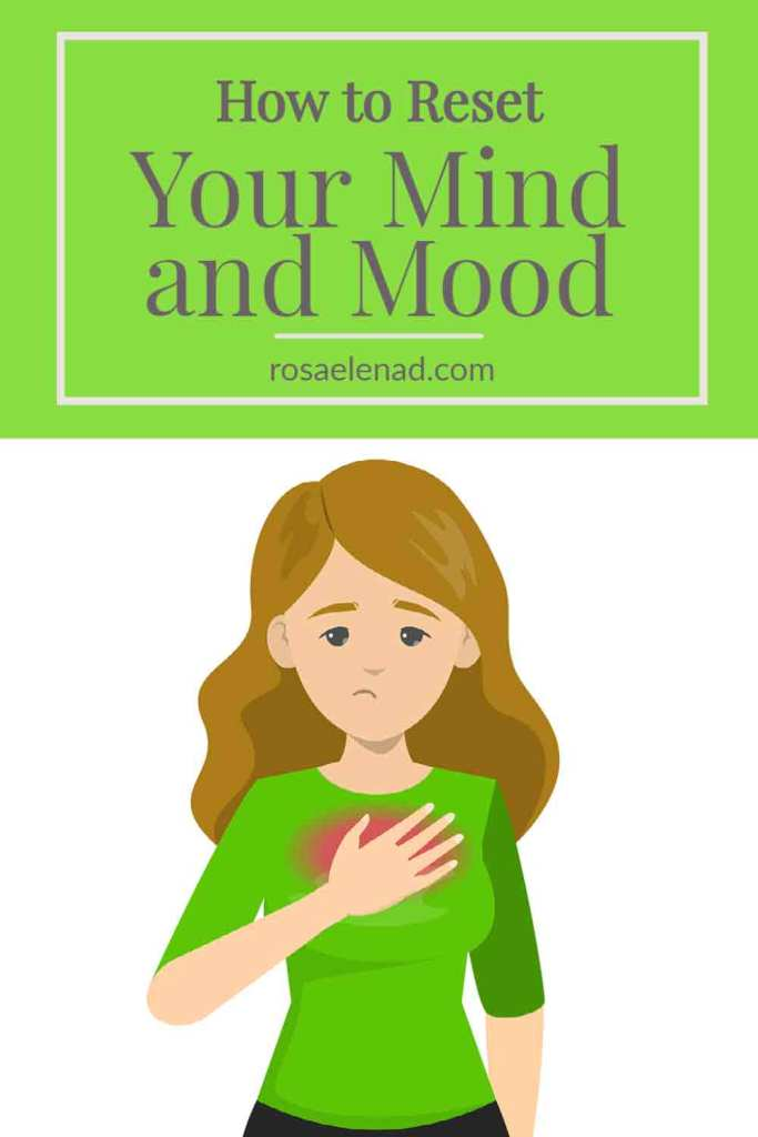 Reset mind and mood pin