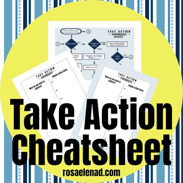 Take action cheatsheet paid version