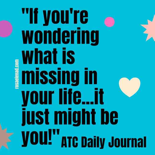 Act Daily Journal Quote